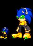 Jet Set Sonic Sprites