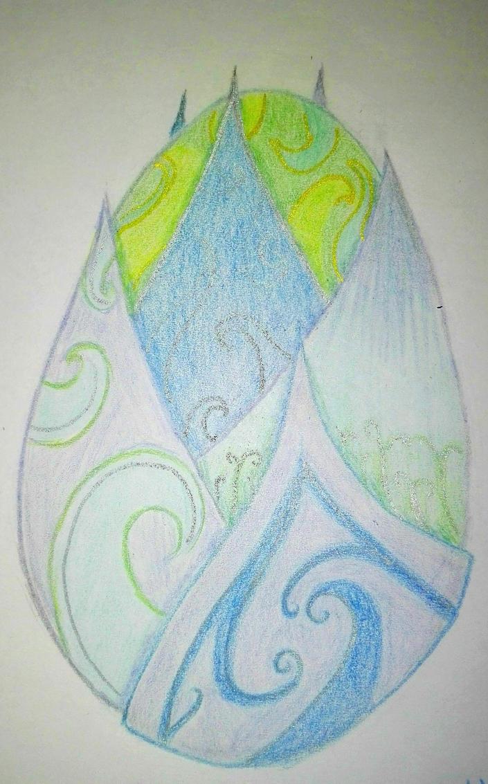 Blue dragon egg by FantasyDream03