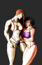 MOLOTOV AND DR. GIRLFRIEND by B9TRIBECA