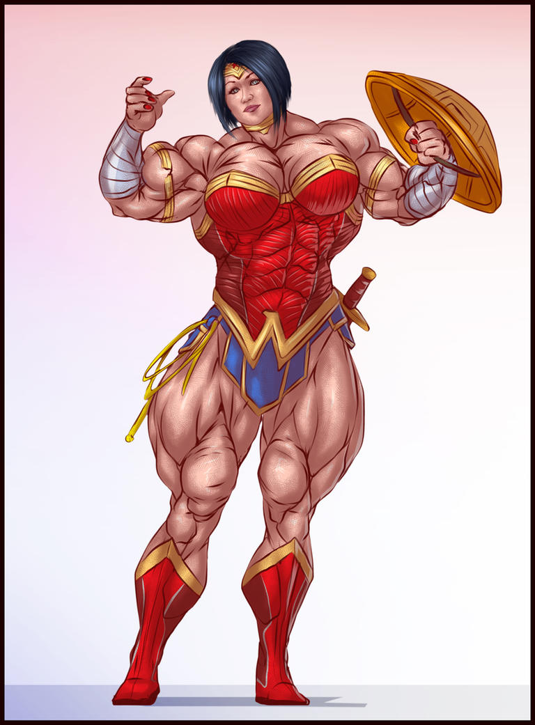 ALEESHA YOUNG WONDER WOMAN by B9TRIBECA
