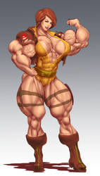 MUSCLE COVERGIRL by B9TRIBECA