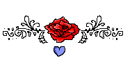 Pixel Rose Boarder Free by Novie-Kenari