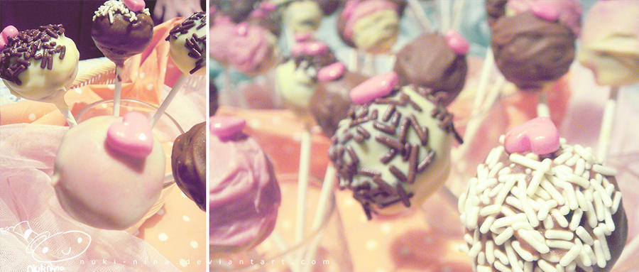 my cute sweet cake pops by nuki-nina