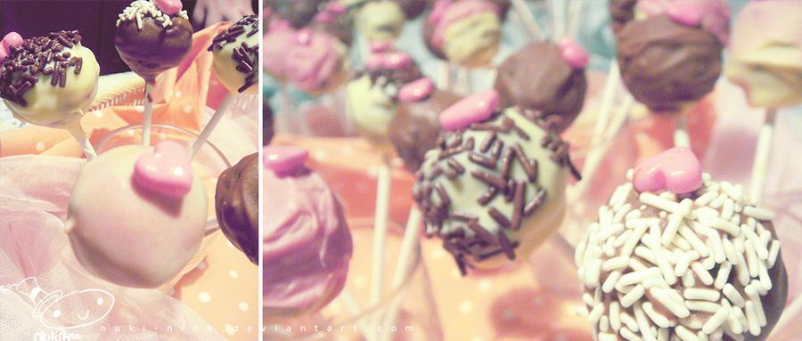 my cute sweet cake pops by nuki-nina