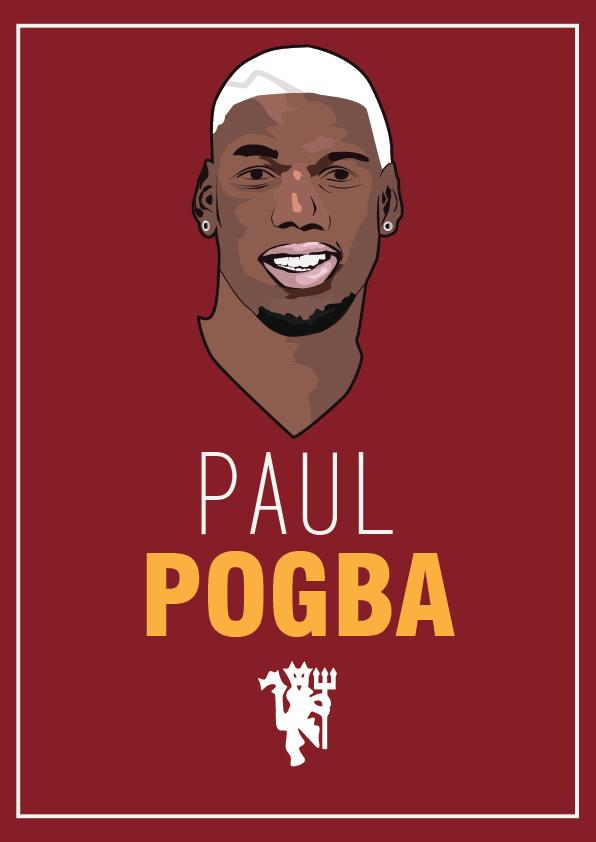 Pogba Portrait by LK181