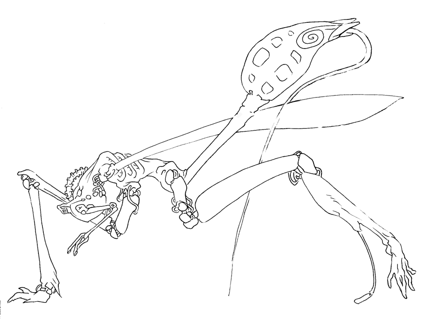Ichneumon Injector (Quadripedal) by attenuasis