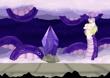 Echidna Wars DX - Ouroboros by Violet-Scales