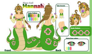Hannah Reference Sheet by Psychowolffy