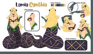 Lamia Cynthia Reference Sheet