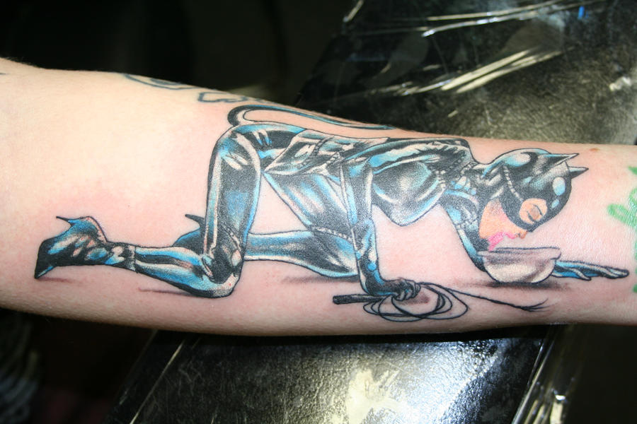 Catwoman Tattoo by skullberries