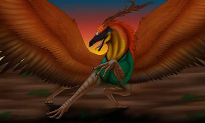 Quetzalcoatl by wolfhound56200