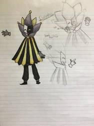 Dimentio doodle/ sketch dump