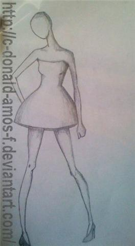 Fashion Design Drawings :D by C-Donald-Amos-F