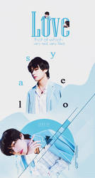 [GRAPHIC COVER] V  (BTS) - DESIGN BY TRACY TRACY