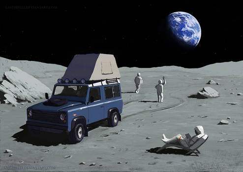 Space Tourism - Moon camping