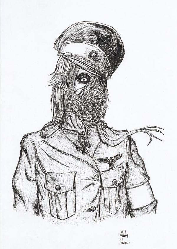 Nazi monster by BrainGhost on DeviantArt