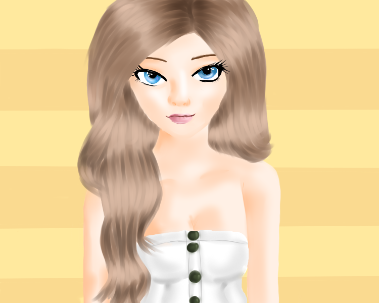 cute girl by Cryostasisx