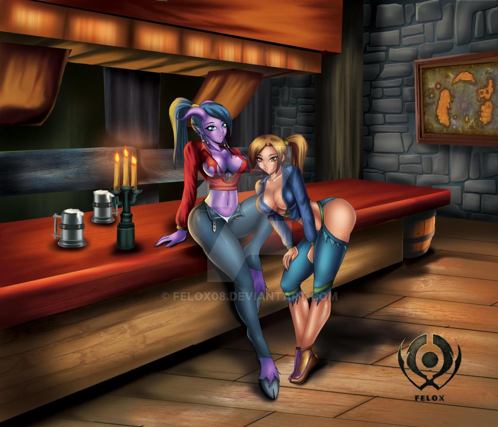 A Night at the Inn by Felox08