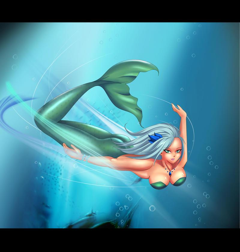 Mermaid Claudia by Felox08