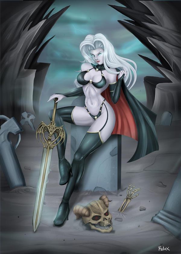 Lady Death by Felox08