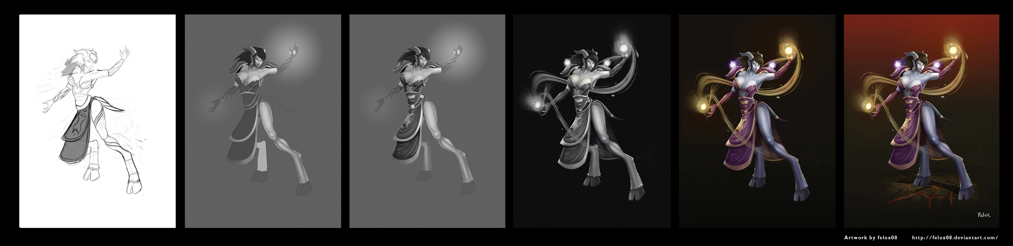 Wow Draenei Process by Felox08