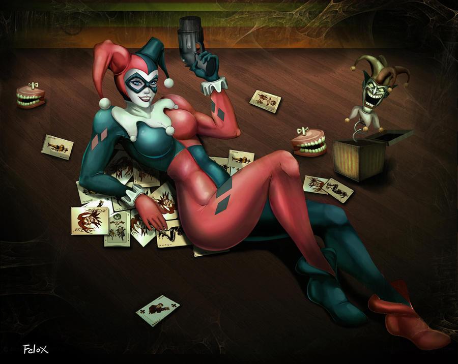 Harley Quinn by Felox08
