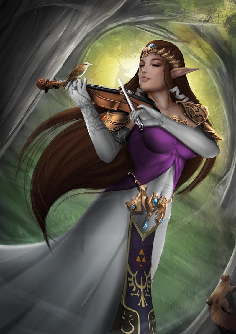 Princess Zelda - NSFW Optional by Felox08