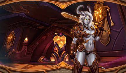 Light Forge Draenei by Felox08