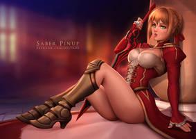 Saber - Fate/Extella by Felox08
