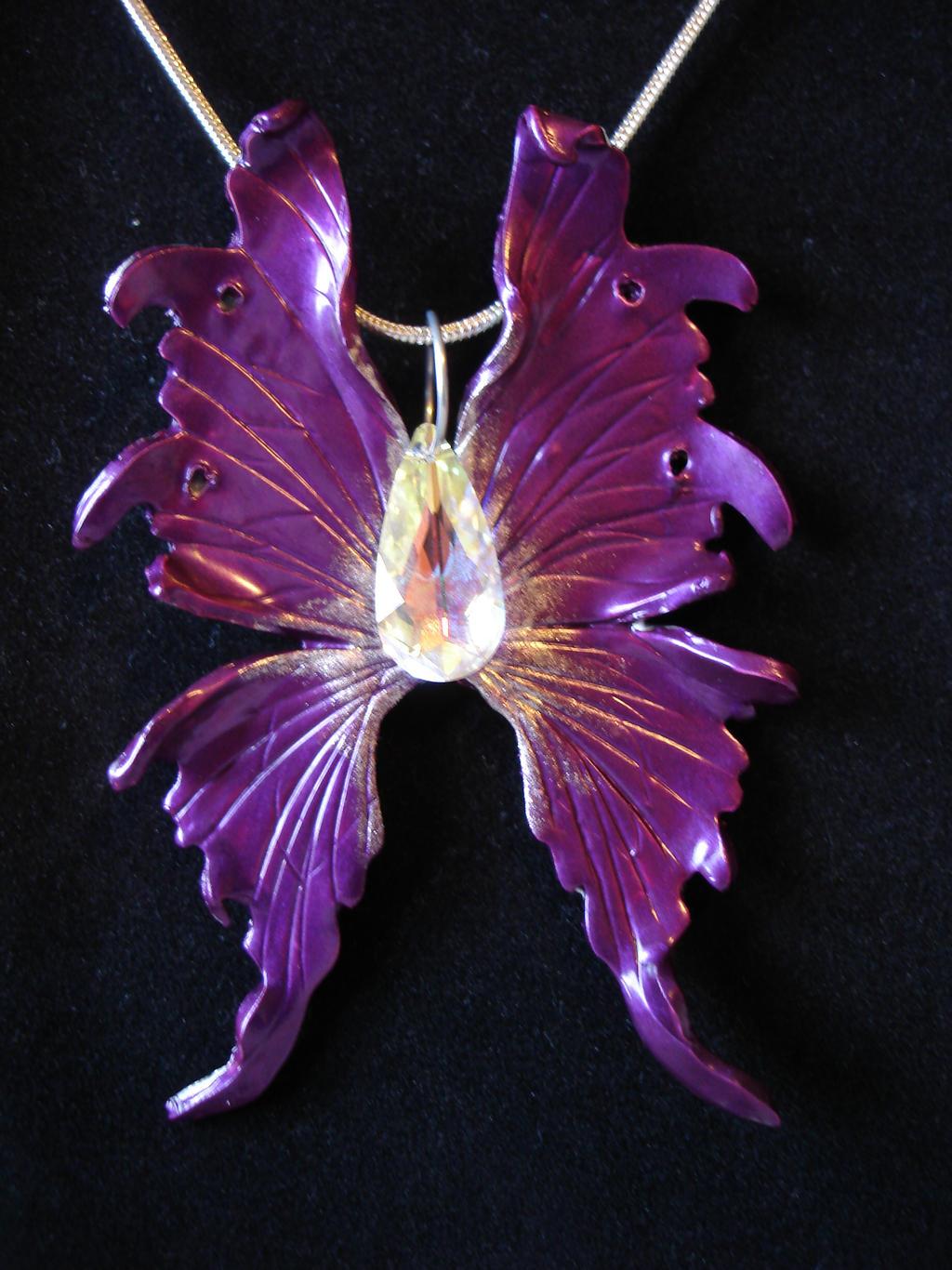 Beautiful Dark purple Fairy Wings by LinaSei on DeviantArt