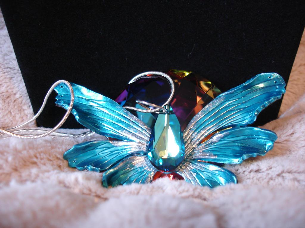 Dark Blue Fairy Wings by LinaSei on deviantART