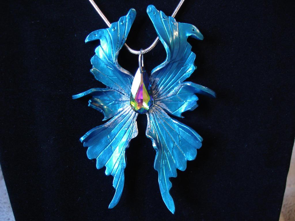 Blue Fairy Wings Large blue fairy wings byDark Blue Fairy Wings
