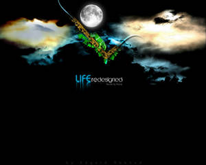 LIFE redesigned wallpaper