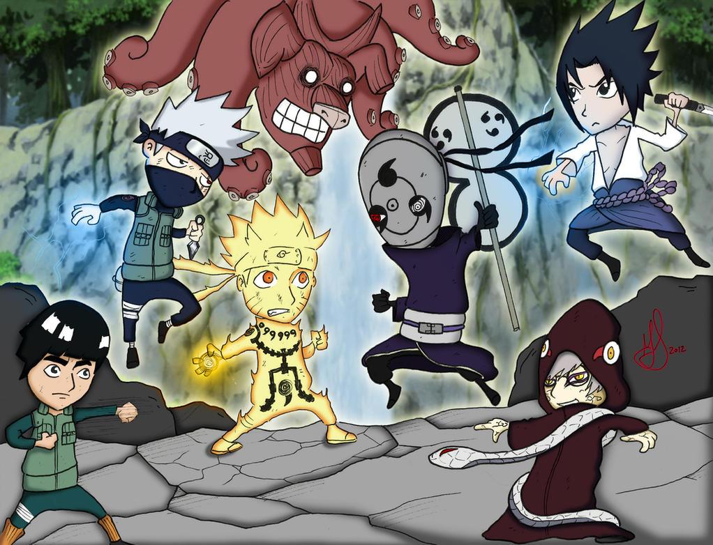 The Fourth Great Ninja War by brodandconfusd on DeviantArt