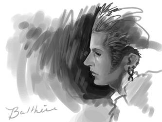 Balthier Portrait by ClaudiaSutton
