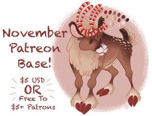November Patreon Base