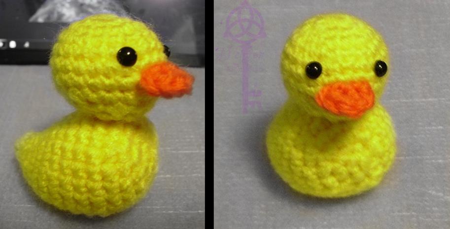 Rubber Ducky Amigurumi by KitWolfren