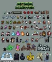 Boss Monster Card Game Art by HealTheIll