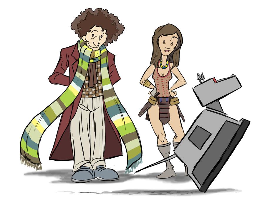 Sketchbook Pro Doctor Doodle by Rashomonchb