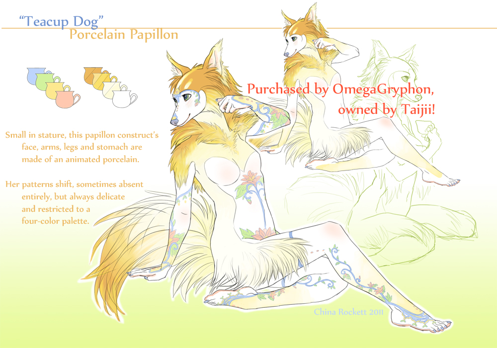 Teacup Dog by kittiara