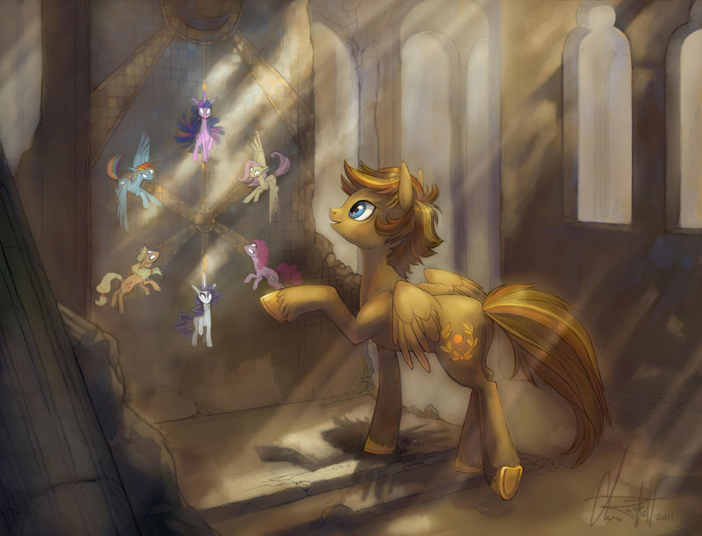 """Pics & Gifs Thread #1: Gasmask should spell my name with an """"o"""" from now on - Page 11 Mlp__fim___archaic_discovery_by_kittiara-d4fahjy"""