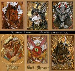 Byzantine Badges 2015 - Batch 1