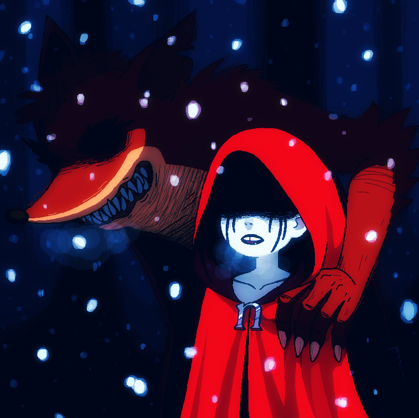 Little n riding hood and the big bad bandicoot by KempferZero