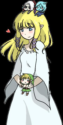 Skyward Sword Zelda by MemoriiMakiko