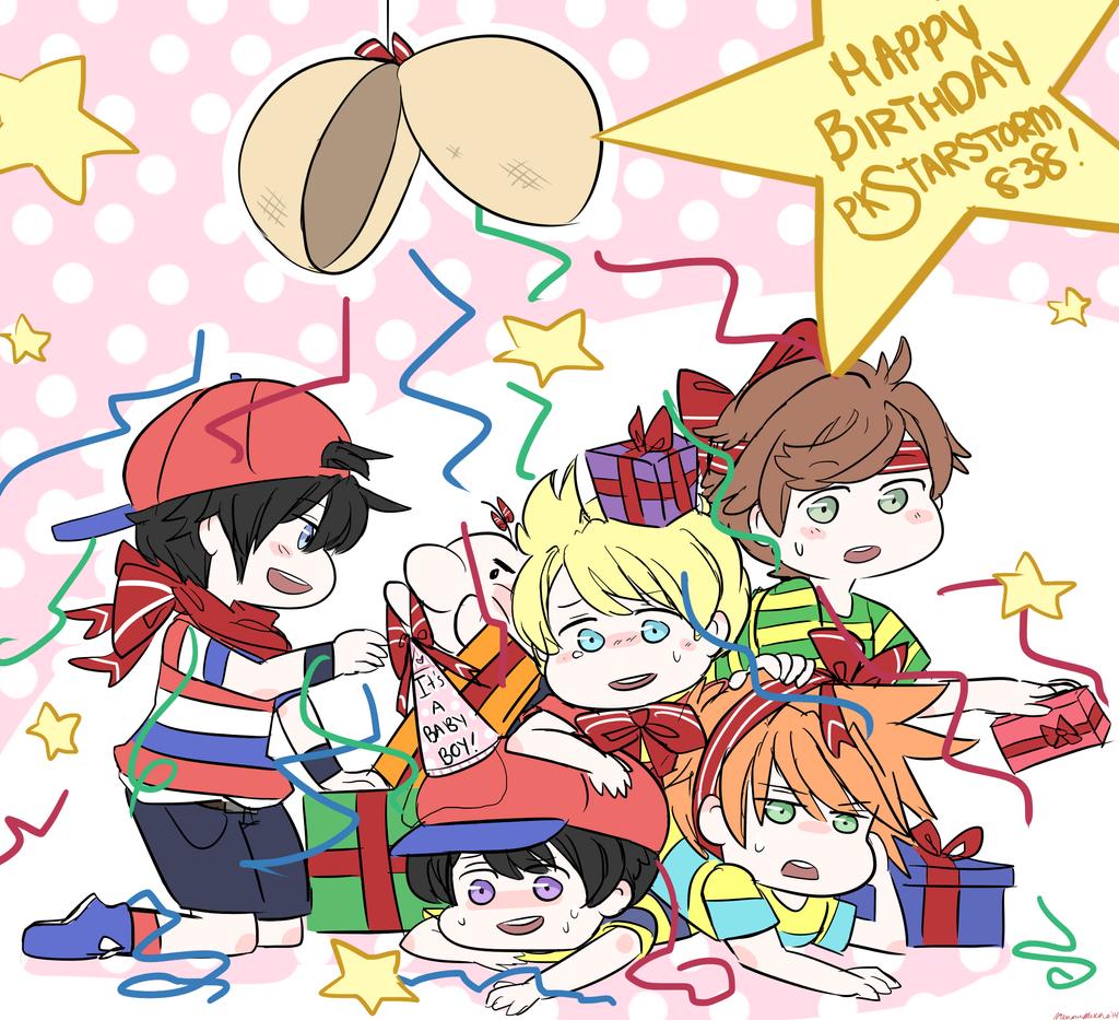 Happy Birthday PKStarstorm838 By MemoriiMakiko On DeviantArt