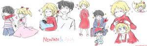 Ninten and Ana