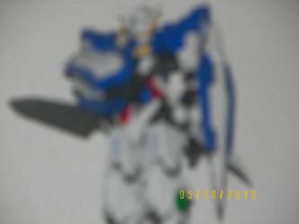Exia Gundam by DDB21