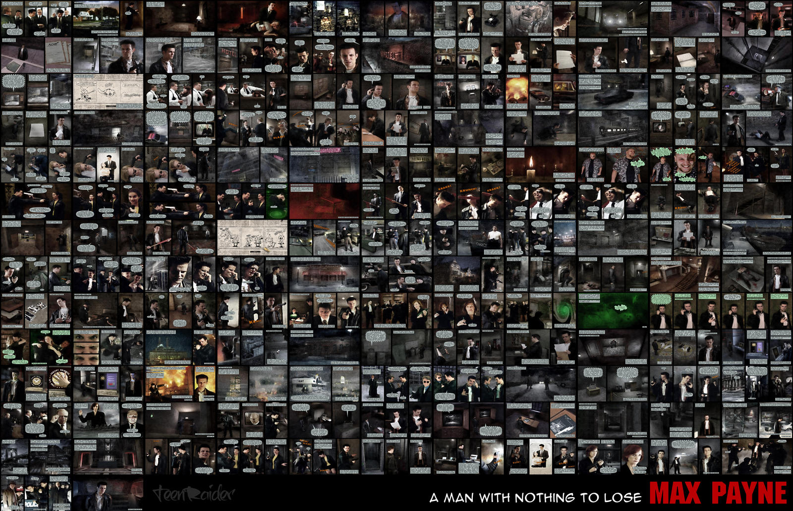 Max Payne - Timeline by TeenRaider