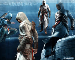 Wallpaper Assassin's Creed by 13Booob13