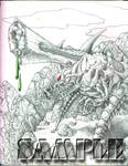 Arachid Cannon on High by kageryu